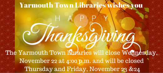 Yarmouthy Town Libraries wishes you (2)